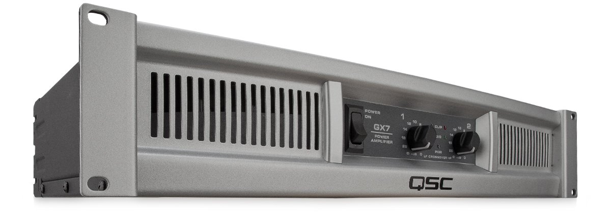 Light Weight, Professional Power Amplifier, 2 Channels, 725 Watts/Ch At 8, 1000 ...