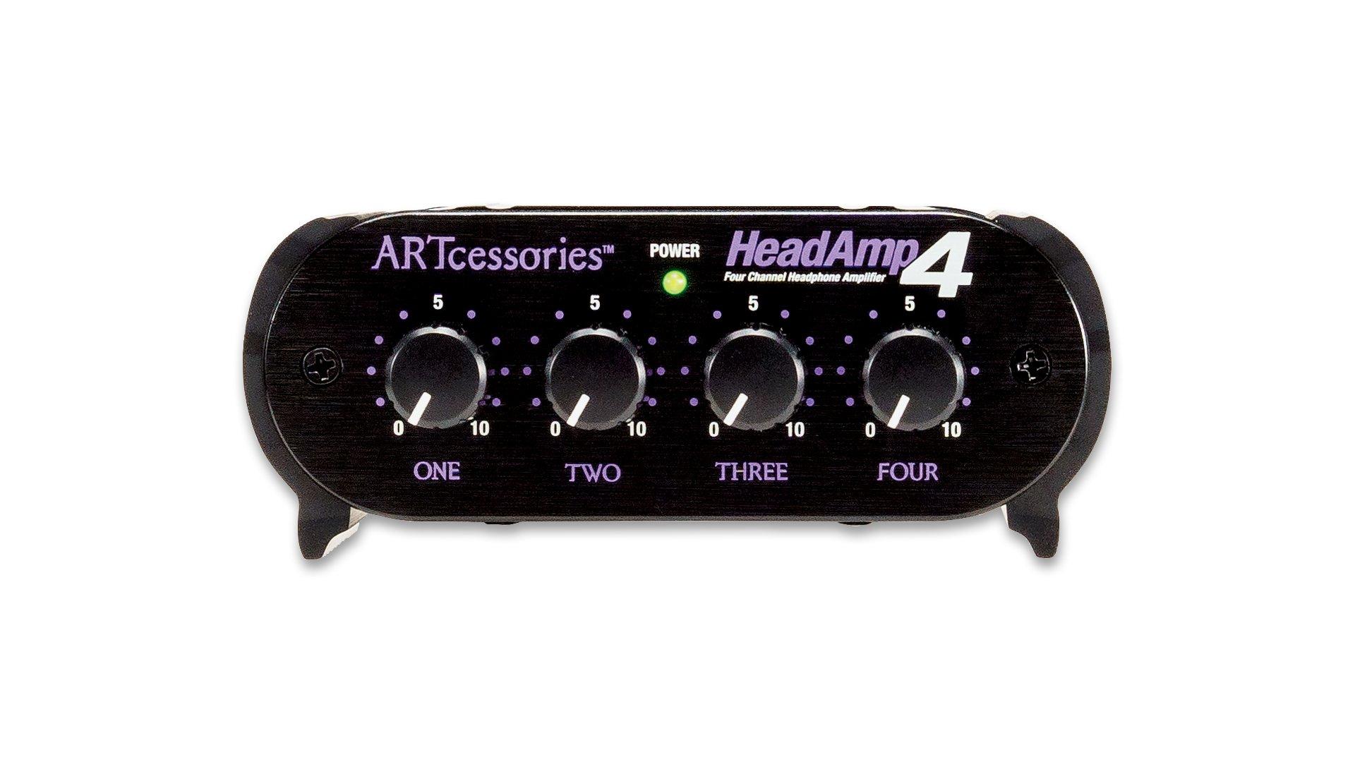 ART HeadAmp 4 Four Channel Headphone Amplifier