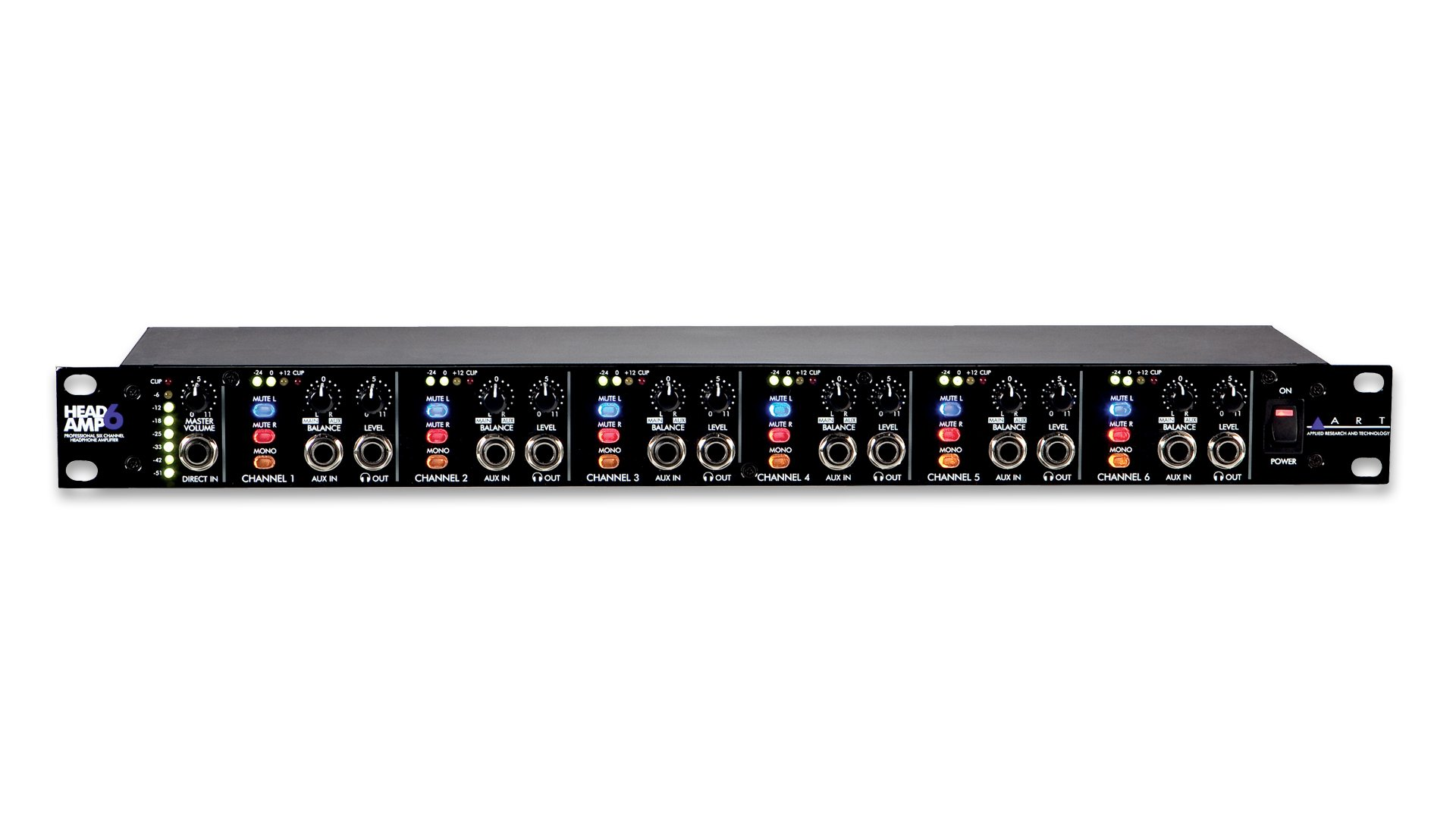 Applied Research and Technology ART Head Amp 6 - 6 Channel Headphone Amp