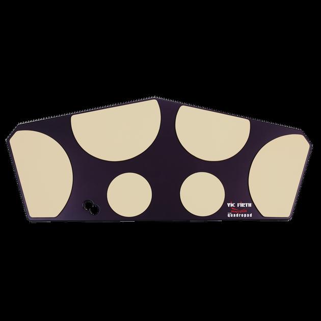 Vic Firth HHPQL Large Quadropad Tenor Practice Pad w/ Laminates