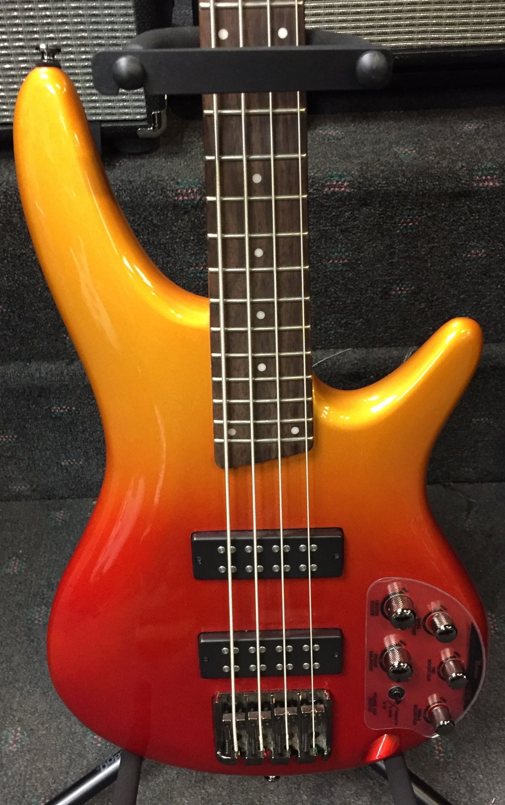 Demo Ibanez SR300E Electric Bass Guitar-Autumn Fade Metallic