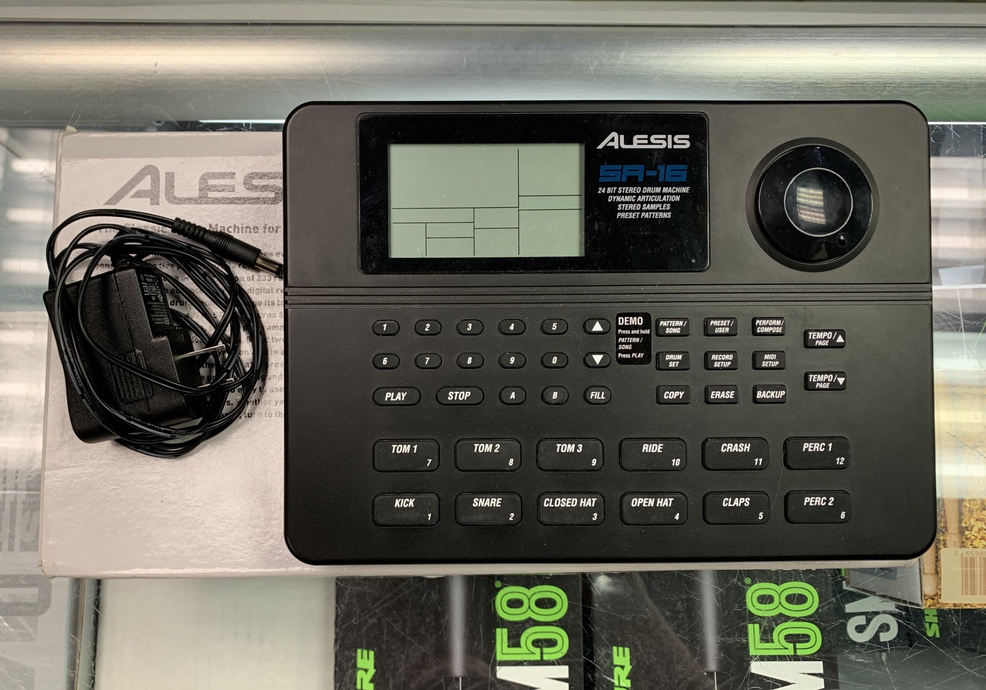 Used Alesis SR-16 Drum Machine