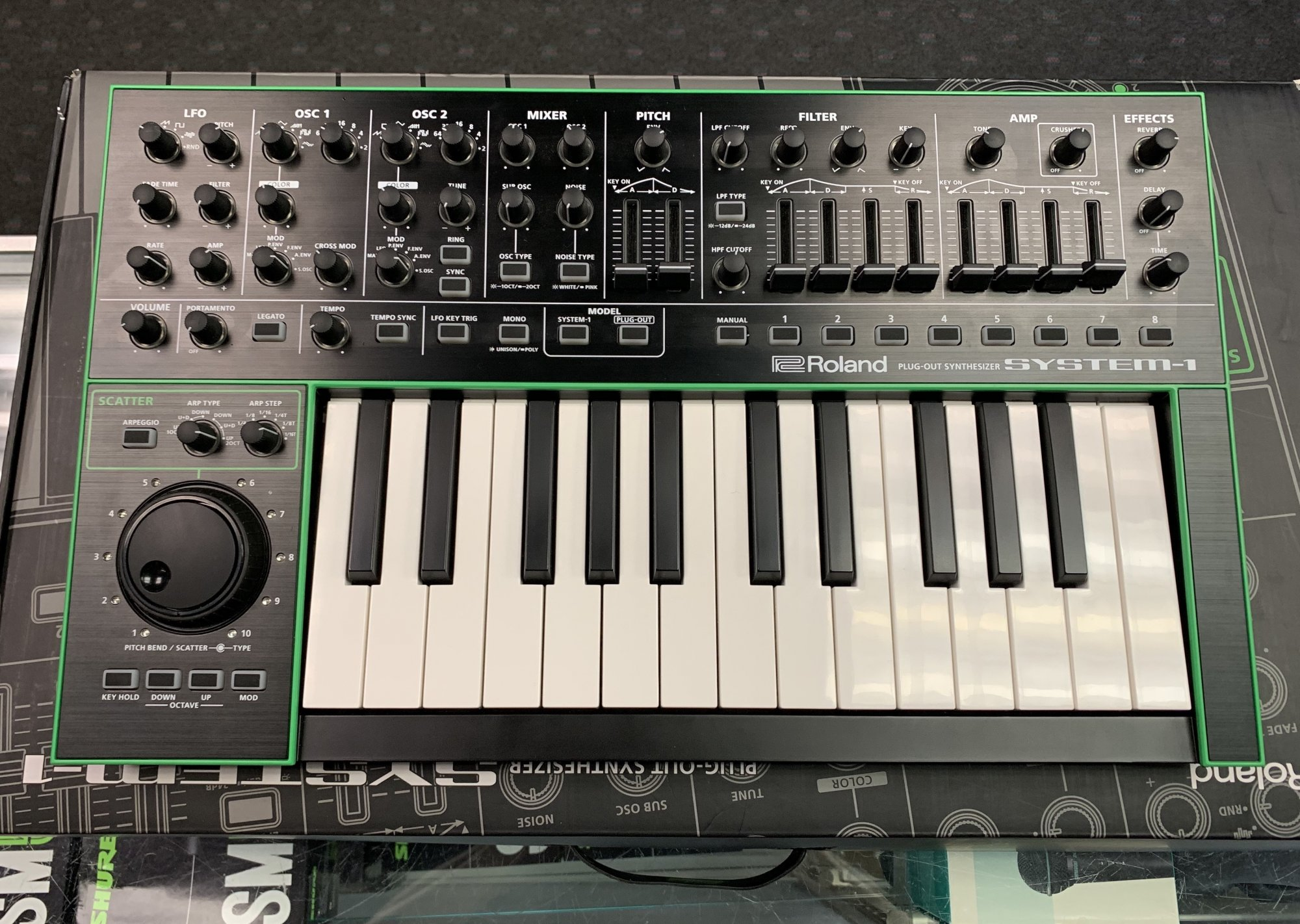 Used Roland Plug-Out Synthesizer System-1