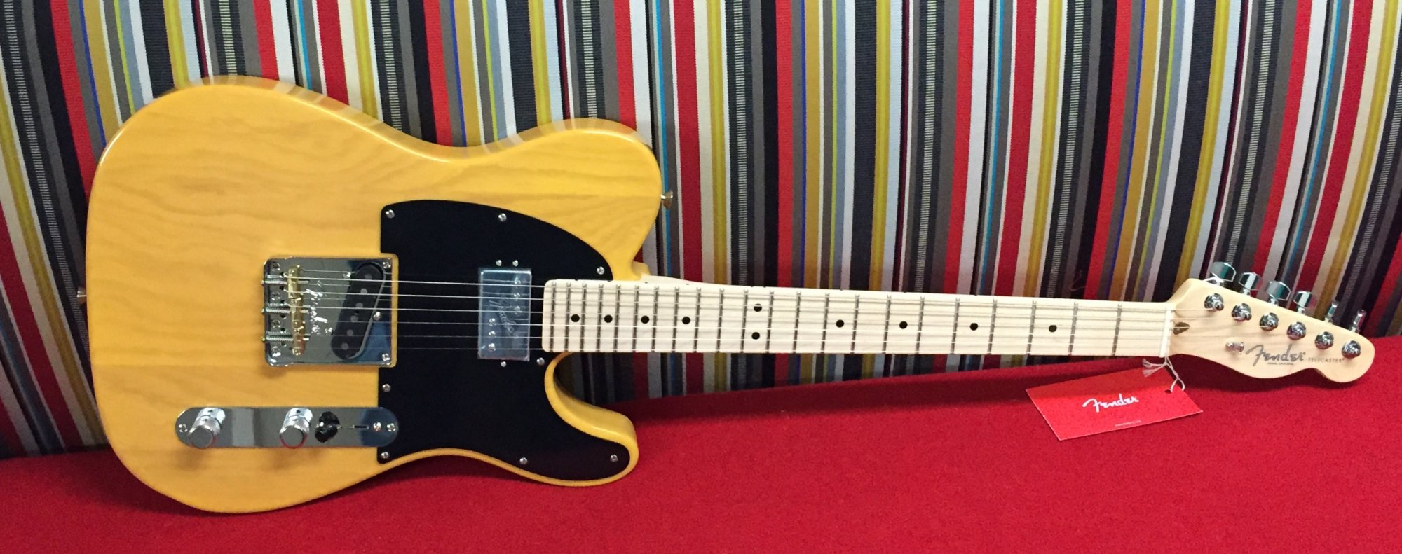Fender Limited Edition American Pro Telecaster with Shawbucker - Butterscotch Blonde