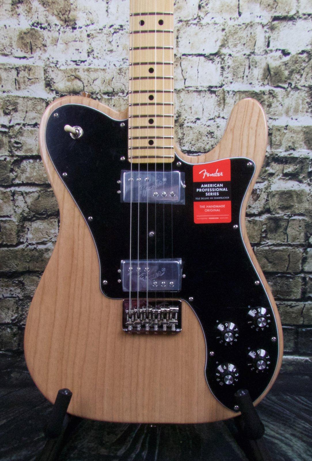 Fender American Professional Telecaster Deluxe ShawBucker Maple Fingerboard - Natural