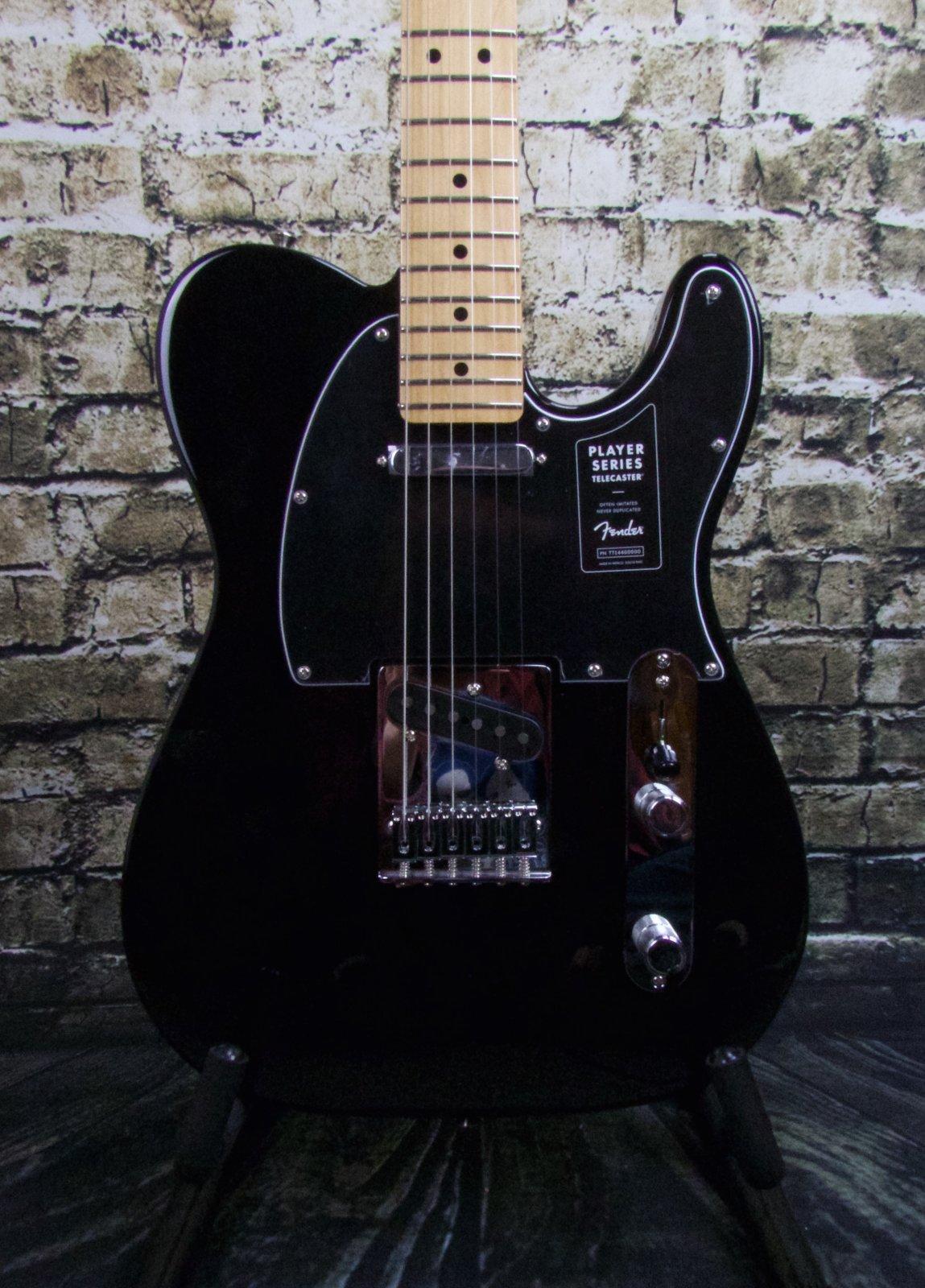 Fender Player Telecaster Maple Fingerboard - Black