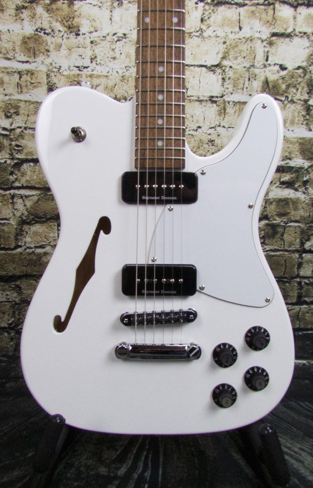 Fender Jim Adkins JA-90 Telecaster Thinline - White