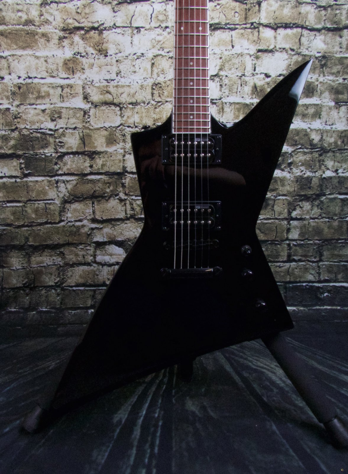 ESP LTD EX-200 Black Electric Guitar