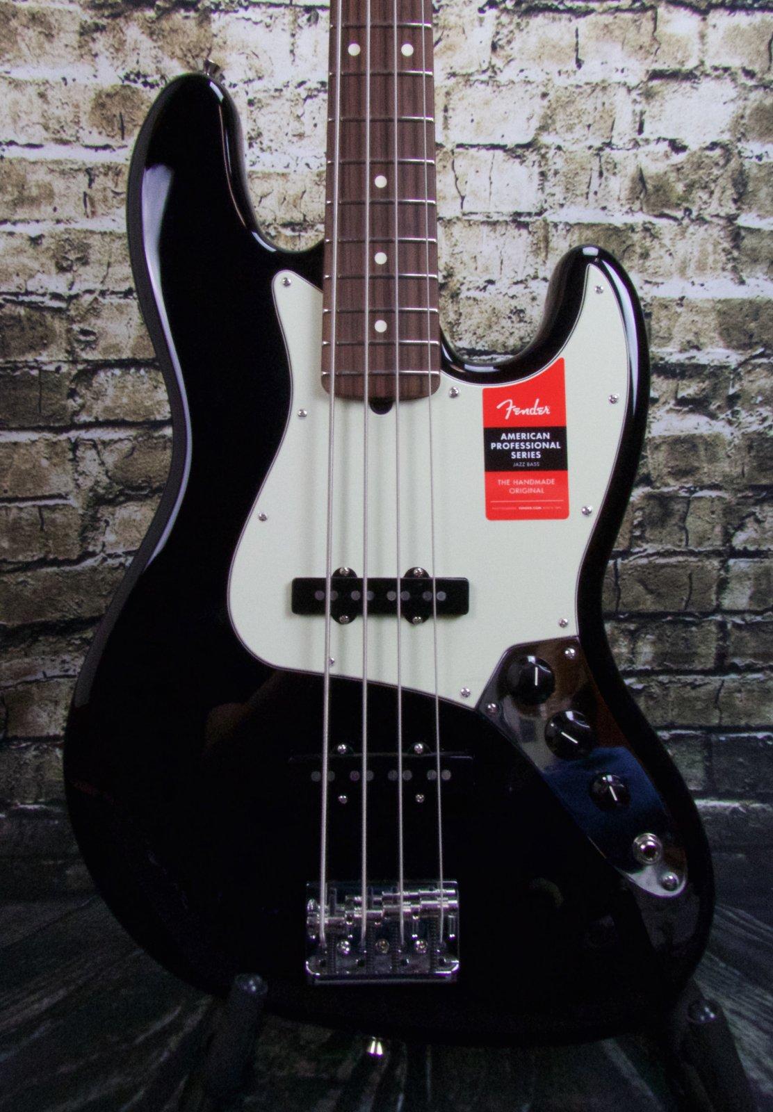 Fender American Pro Jazz Bass, Rosewood Fingerboard, Black