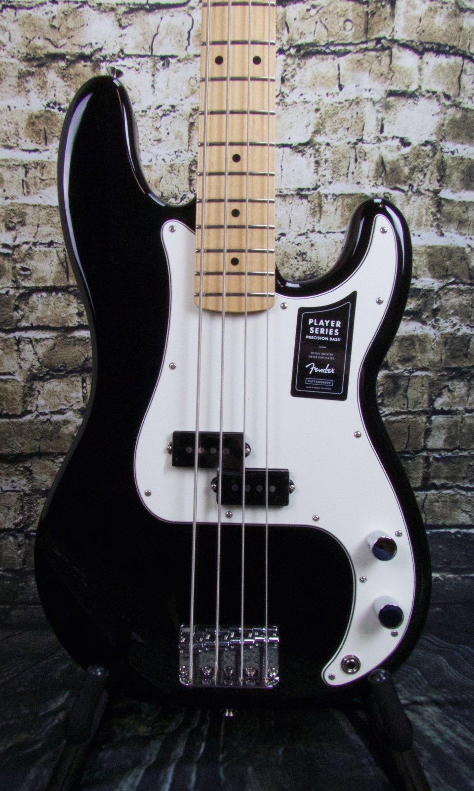 Fender Player Precision Bass Maple Fingerboard - Black