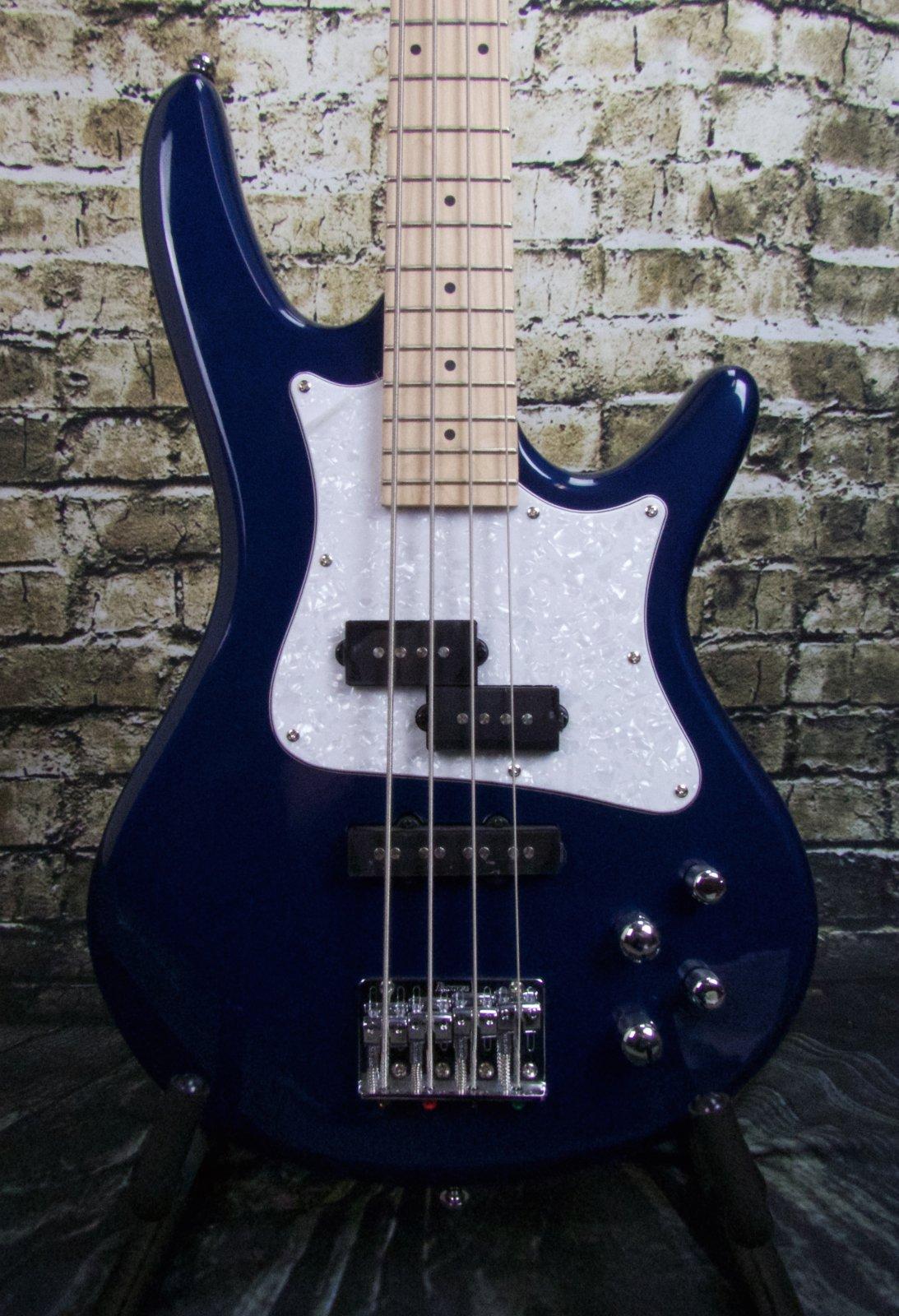 Ibanez SRMD200SBM Mezzo 4str Electric Bass - 32 medium Scale - Sapphire Blue Metallic