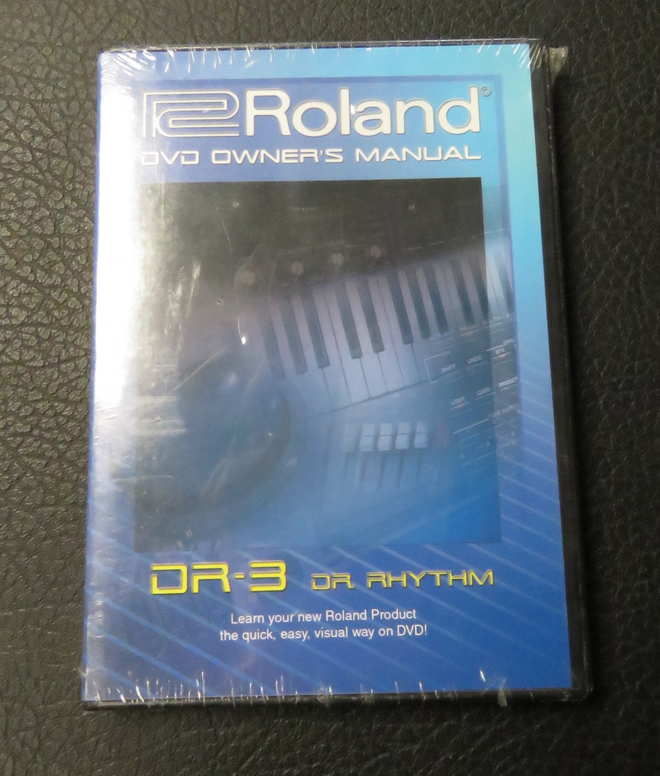 New Old Stock Roland DR-3 DVD Owner's Manual