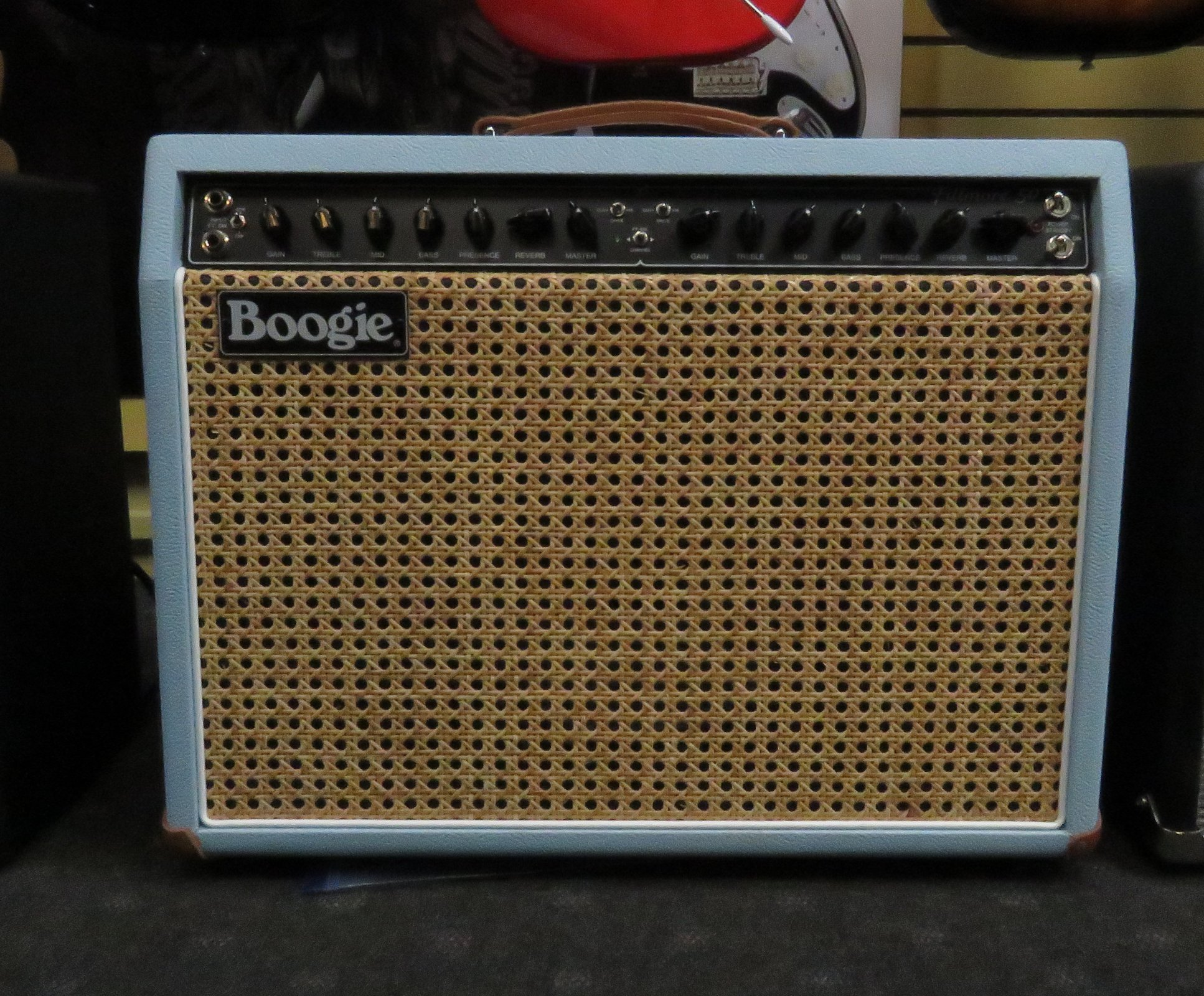 Mesa/Boogie Fillmore 50 - Baby Blue Bronco Tolex/Cane Grille Cloth