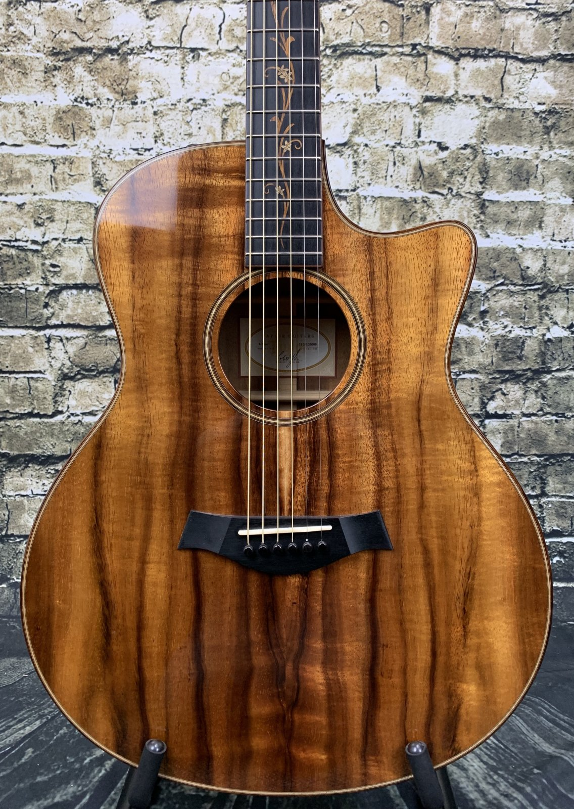 Taylor 2013 K26CE Koa Grand Auditorium Acoustic Electric Guitar - Natural w/ Case