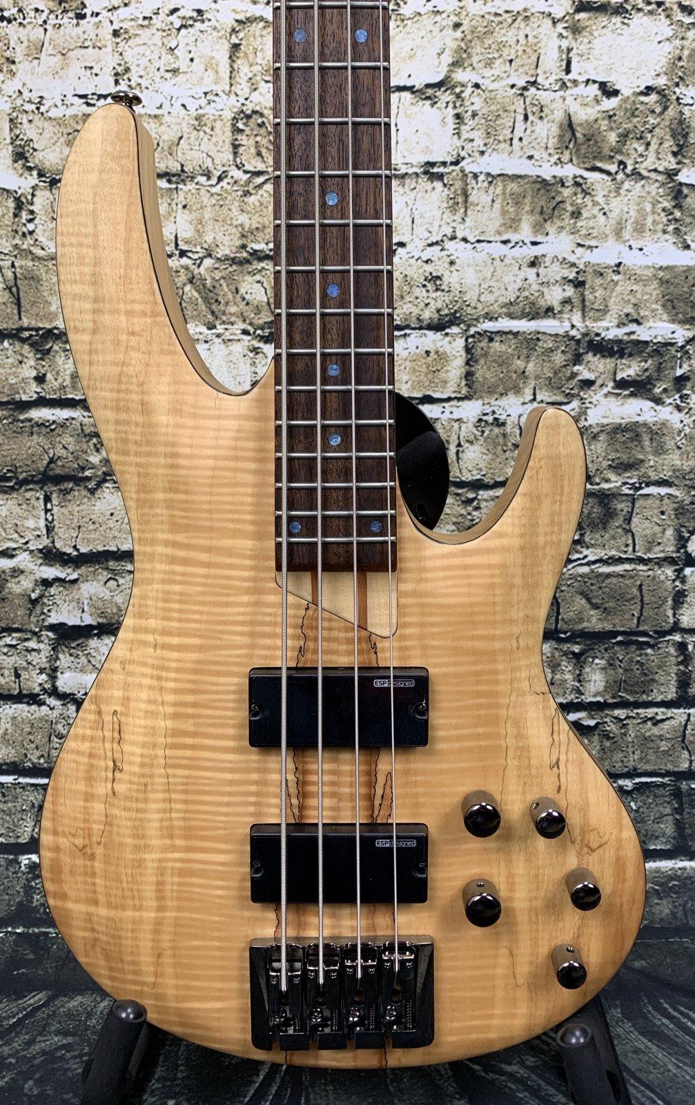 Demo LTD B-204SM 4-String Electric Bass - Natural Satin