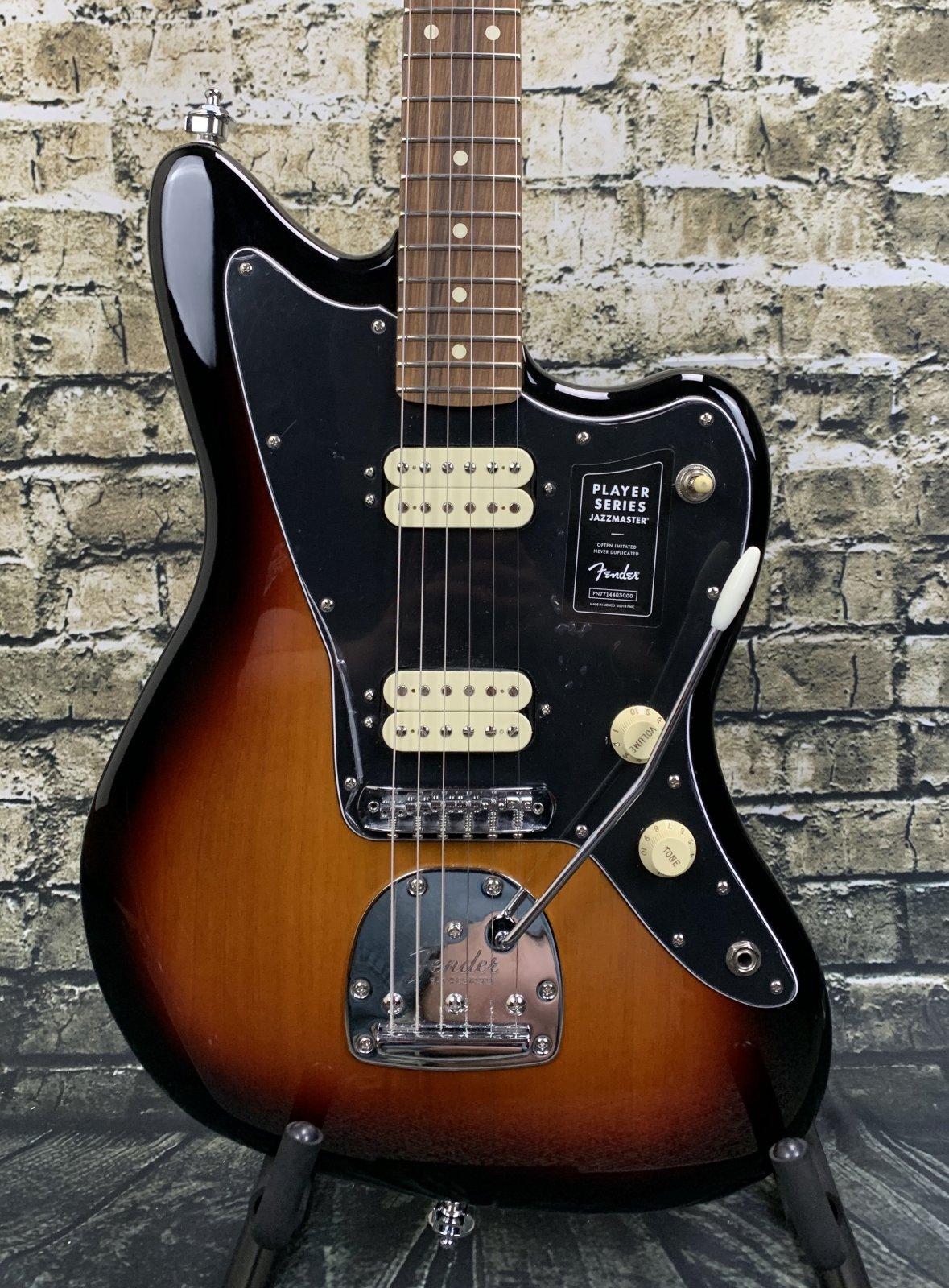 Demo Fender Player Series Jazzmaster HH - 3-Color Sunburst
