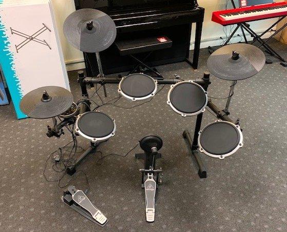 Used  Behringer XD80USB 8-Piece Electronic Drum Set