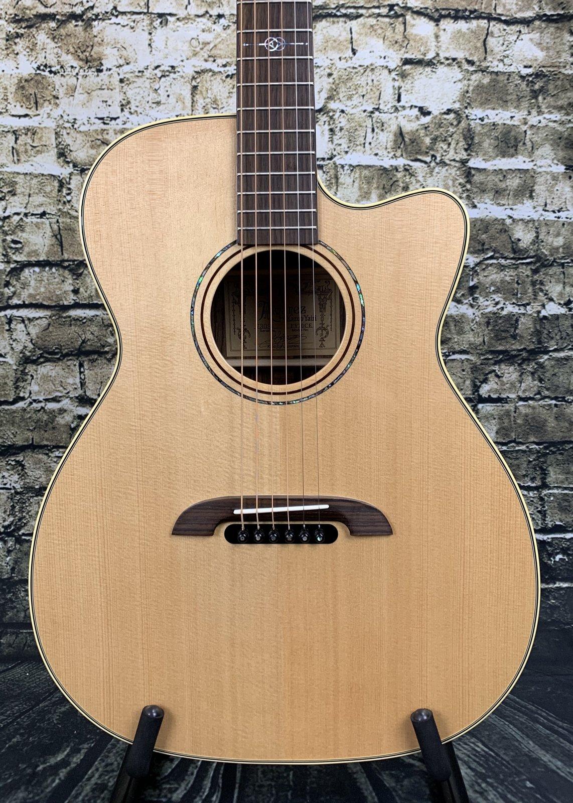 Alvarez FY70CE Yairi Standard Folk/OM Sitka/Rosewood AE w/Cutaway