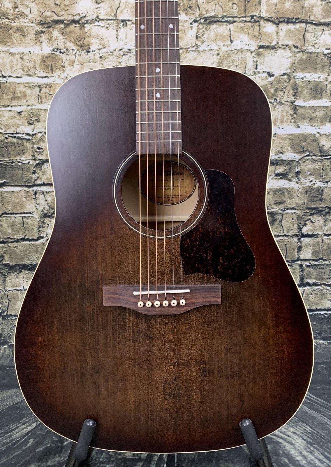 Art & Lutherie Americana Dreadnought Acoustic Guitar Q1T - Bourbon Burst