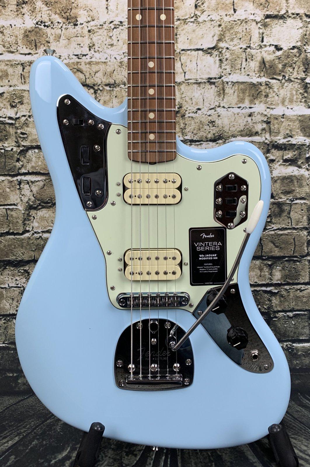 Fender Vintera '60s Jaguar Modified HH - Sonic Blue