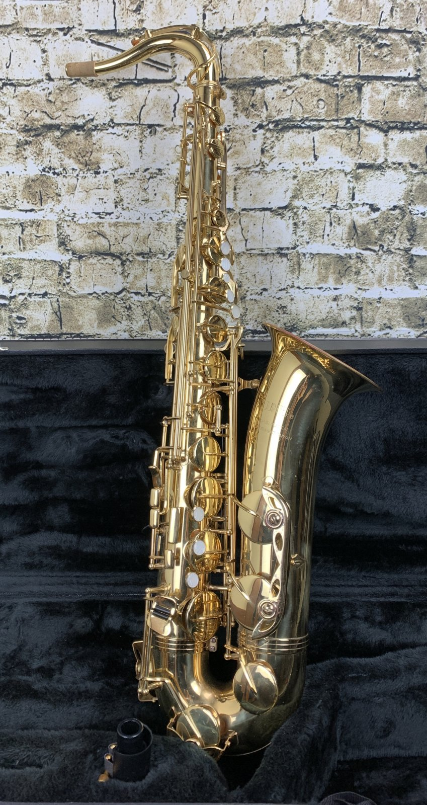 Used Jupiter JTS-787 Tenor Saxophone Outfit w/ Case & Mouthpiece