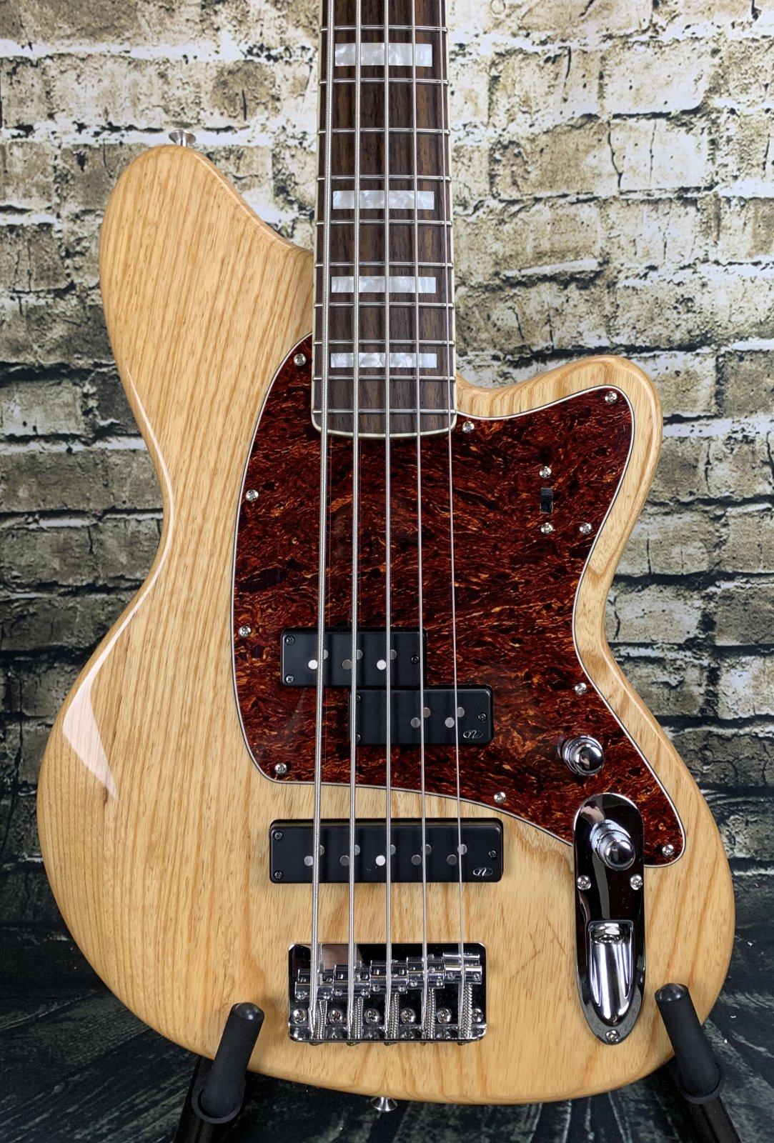 Used Ibanez TMB605 5-String Talman Bass - Natural