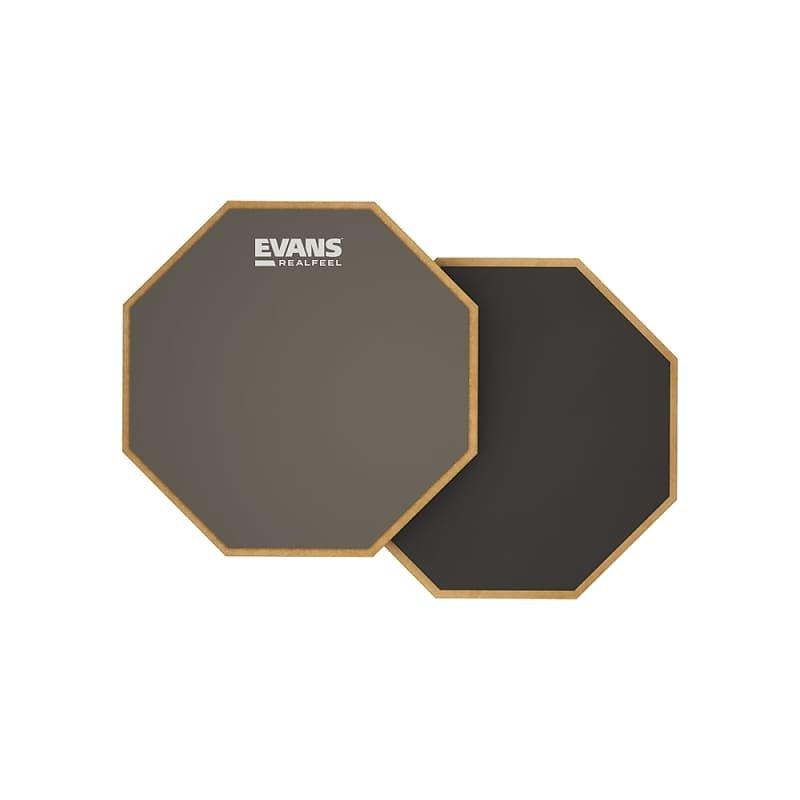 Evans RF6D RealFeel 6 Inch 2-Sided Standard Practice Pad