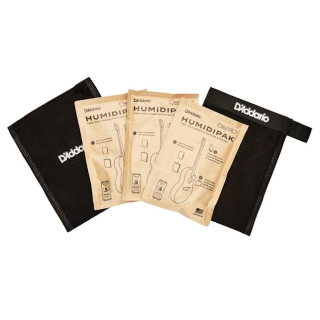 D'Addario Humidipak Two-Way Instrument Humidification System