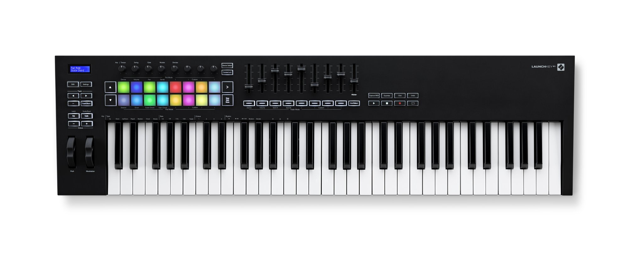 Novation Launchkey MK3 61 61-Note Keyboard Controller