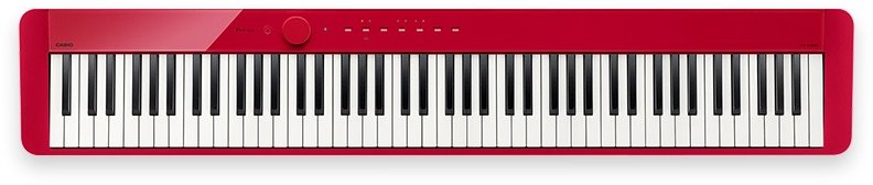 Casio Privia PX-S1000RD 88 Note Digital Piano-Red