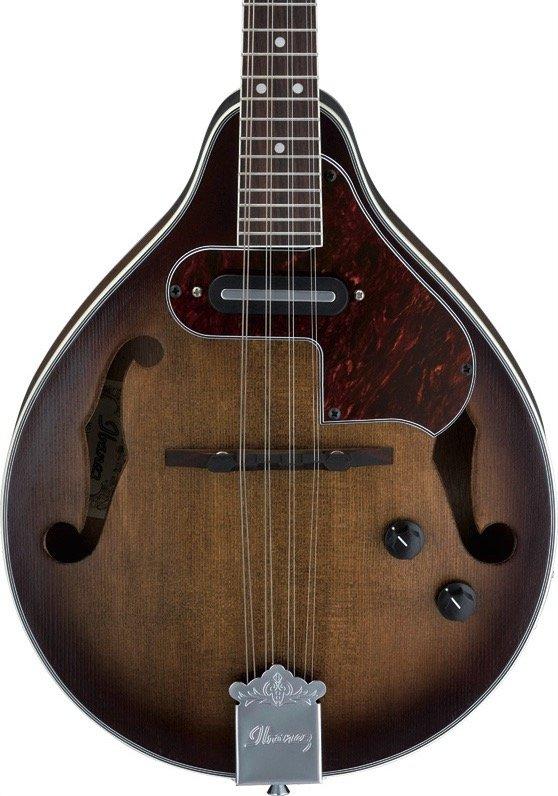 Ibanez M510EOVS A-Style Acoustic-Electric Mandolin-Vintage Sunburst
