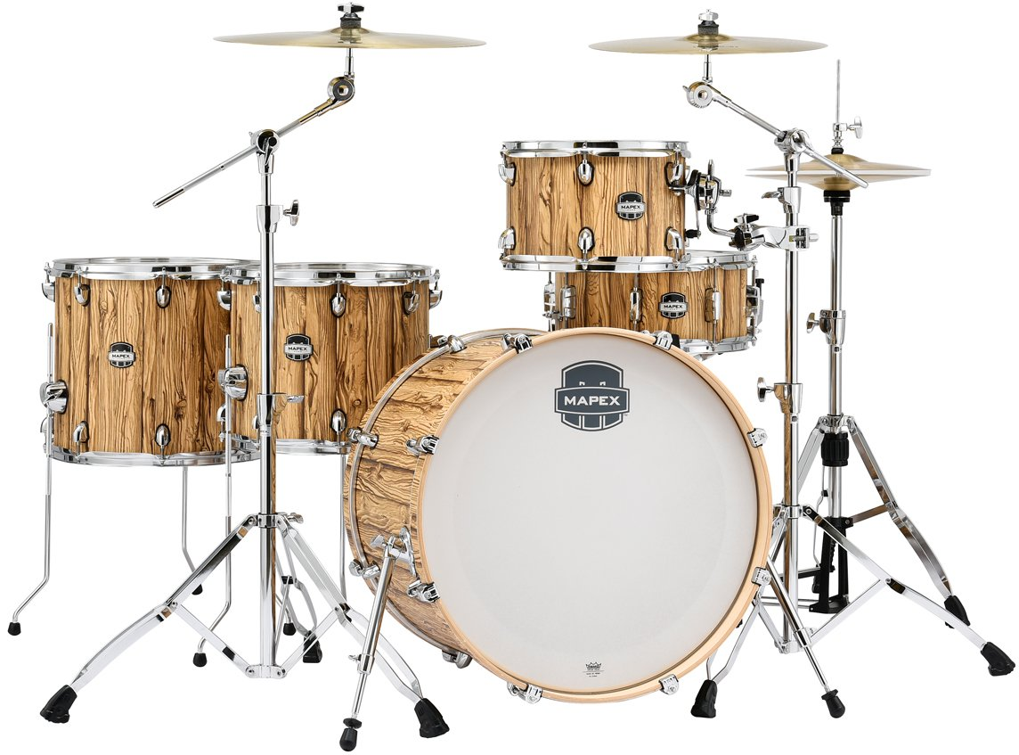 Mapex MA528SFIW Mars Series 5-Piece Crossover Shell Pack (Short Toms) - Driftwood