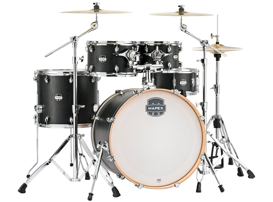 Mapex MA529SFZW 5-Piece Rock Shell Pack (Short Toms) - Nightwood