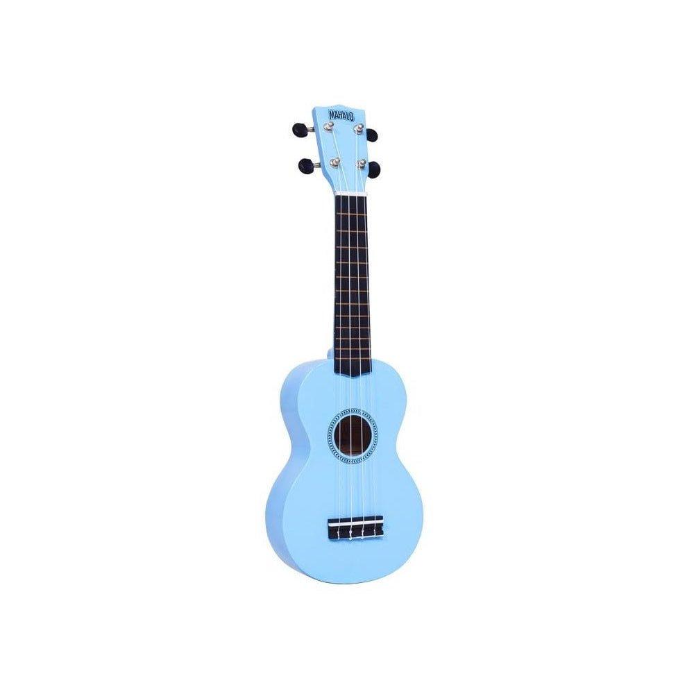 Mahalo Rainbow Soprano Ukulele-Light Blue