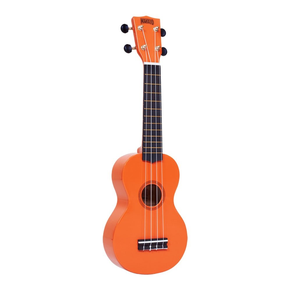 Mahalo Rainbow Soprano Ukulele-Orange