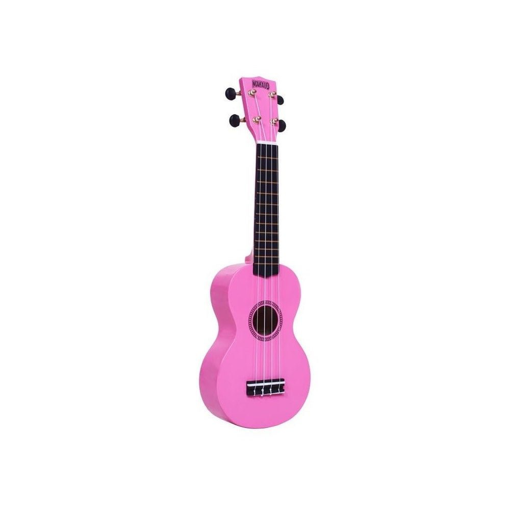 Mahalo Rainbow Soprano Ukulele-Pink