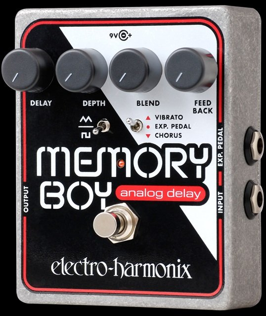 EHX Memory Boy Analog Echo/Chorus/Vibrato Effects Pedal