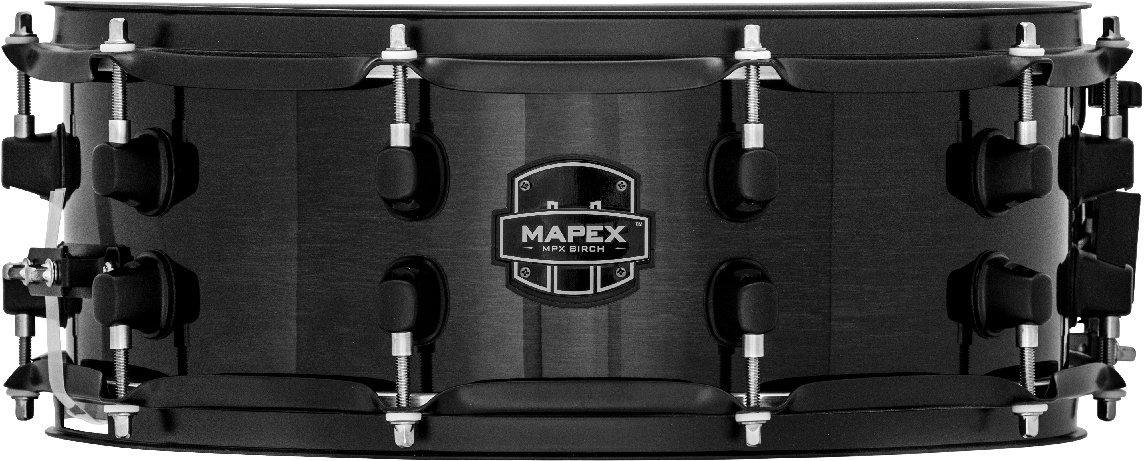 Mapex MPBC3600BMB 13 x 6 Birch Snare Drum - Transparent Black