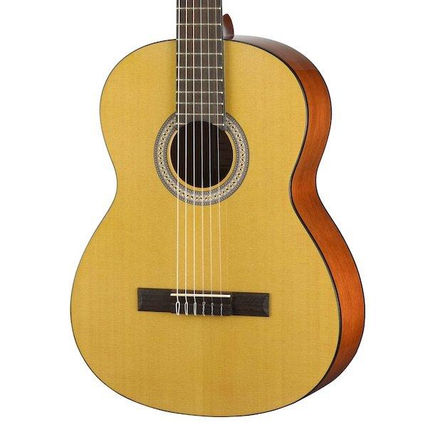Walden Guitars N350 Standard Nylon Classical - Gloss Natural w/ Gig Bag