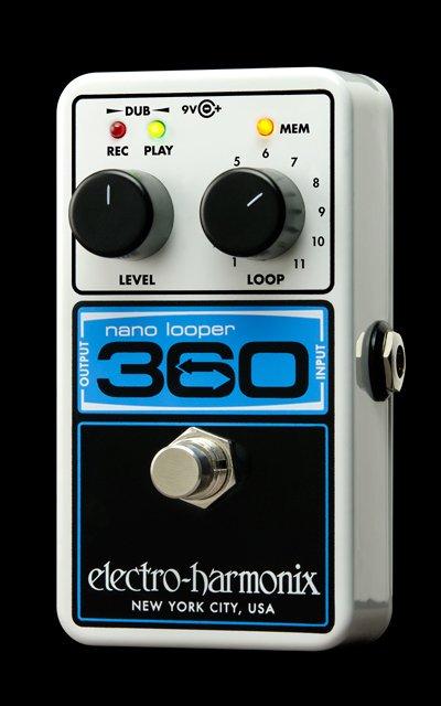 Electro-Harmonix Nano Looper 360-Looper Pedal