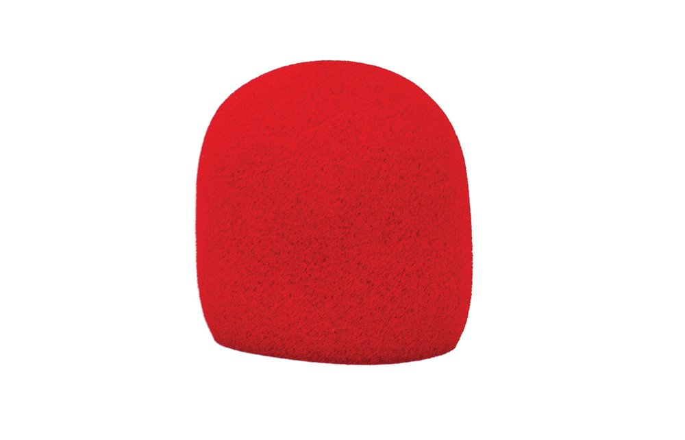 Nomad NMW-J01R Foam Microphone Windscreen - Red