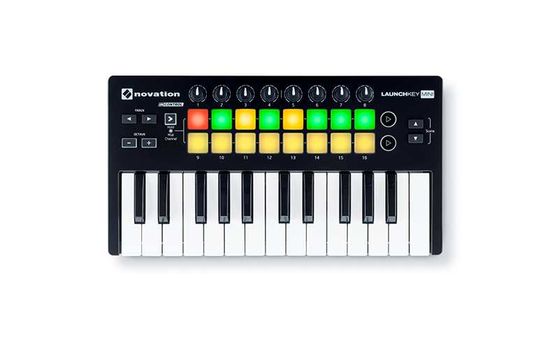 Novation Launchkey Mini 25-Note Keyboard Controller