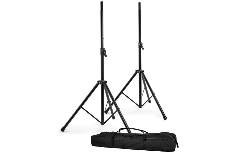 Nomad Heavy Duty Speaker Stands w/ Carrying Bag - Black