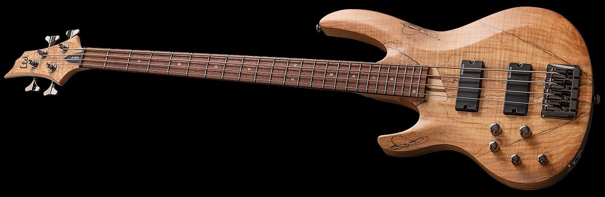LTD B Series B-204SMNSLH Left Handed Electric Bass Guitar - Natural Satin