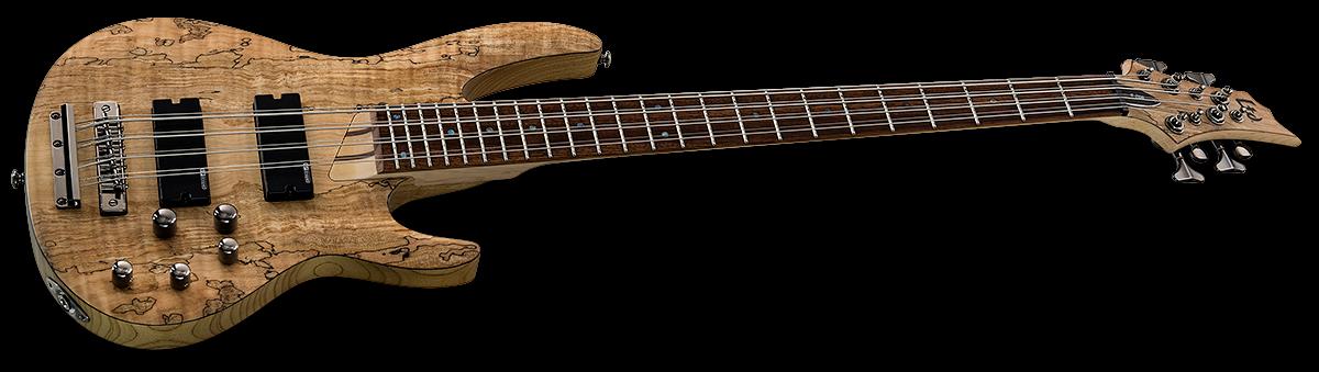 LTD B-208SM 8-String B Series Bass - Natural Satin