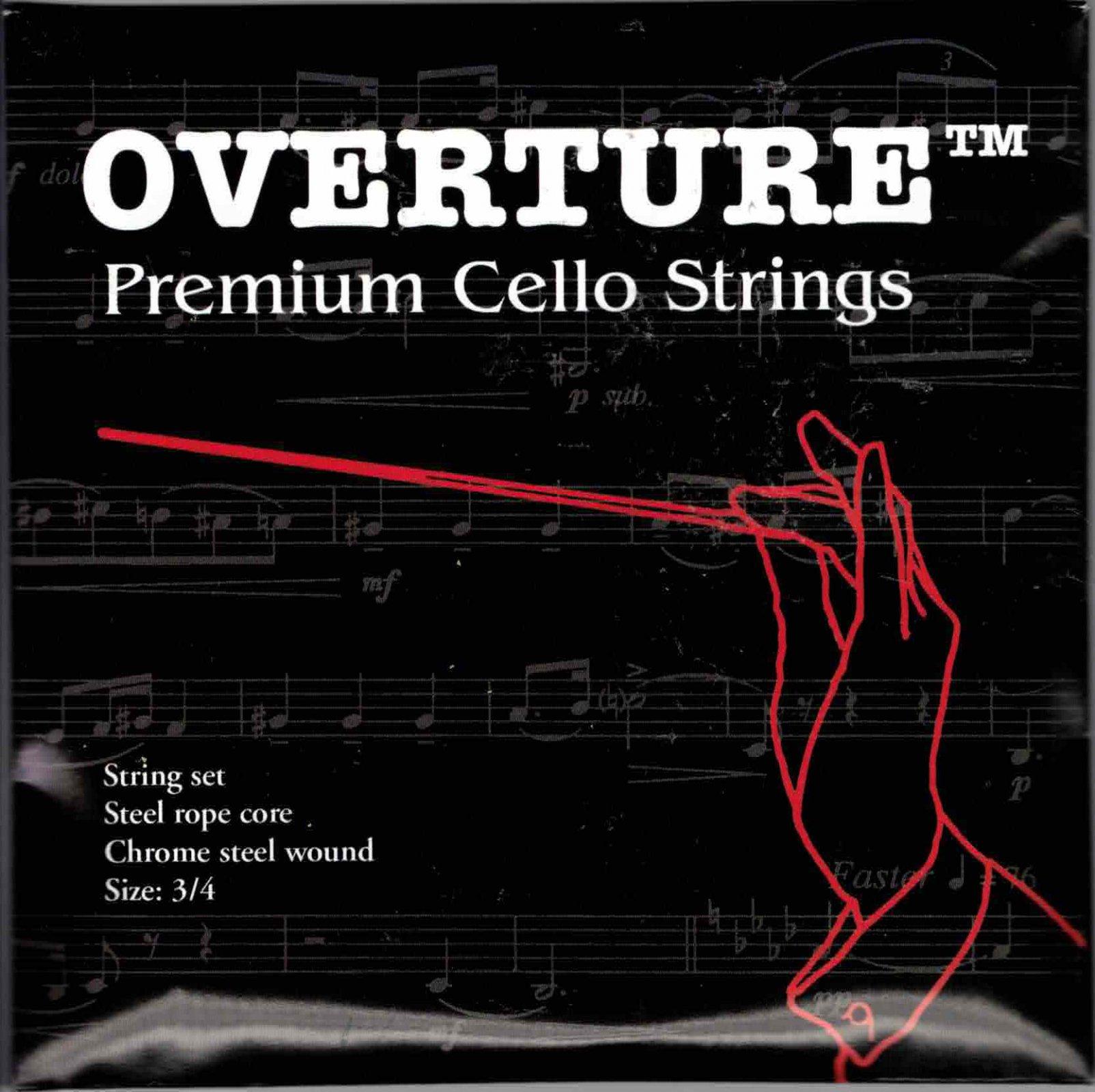 Overture 3/4 Cello Strings