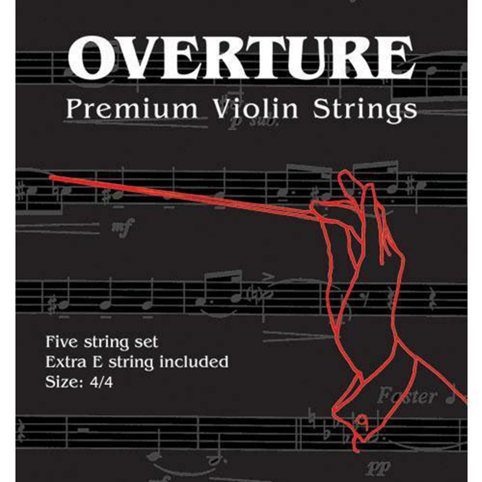 Overture 4/4 Violin Strings
