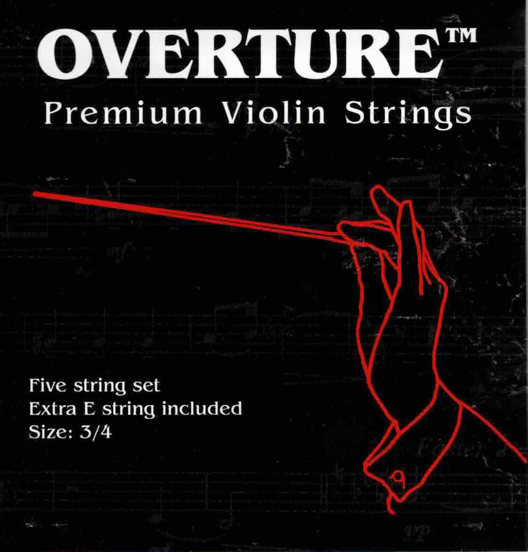 Overture 3/4 Violin Strings