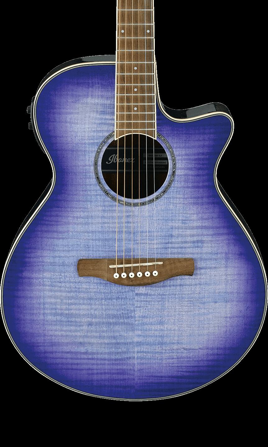 Ibanez AEG19IIPIB Acoustic Electric Guitar - Purple Iris Burst