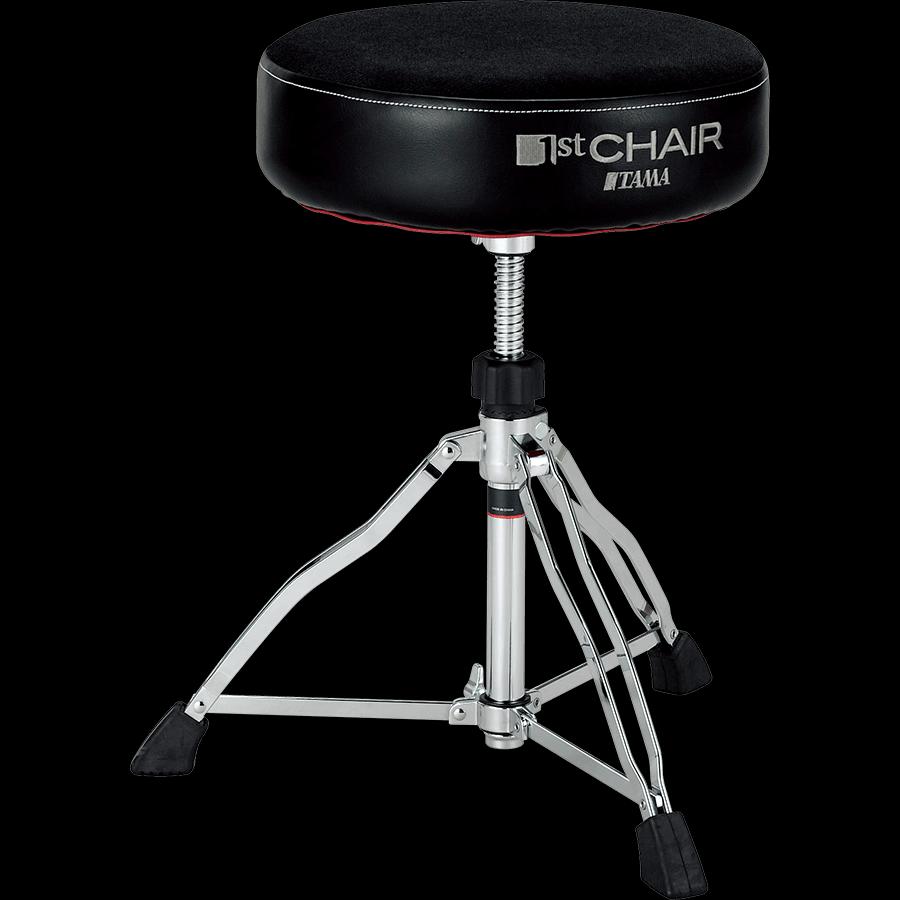 TAMA HT430BC 1st Chair Drum Throne Round Rider w/Cloth Top Seat